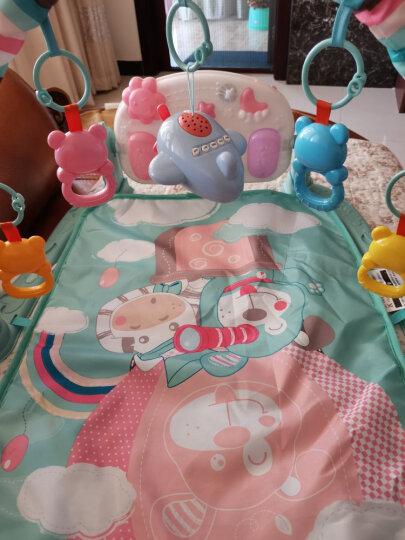 兔妈妈婴儿玩具0-1岁儿童健身架0-6个月摇铃宝宝益智玩具新生儿礼盒脚踏钢琴男女孩年货节礼物床铃 故事机赠品 晒单图