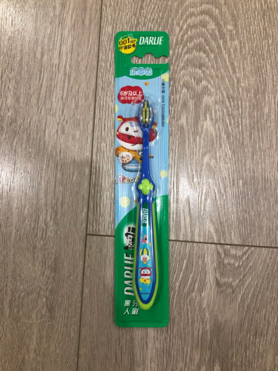 黑人(DARLIE)乐固齿儿童软毛牙刷(6-10岁)小刷头 纤细软毛 呵护洁净 晒单图