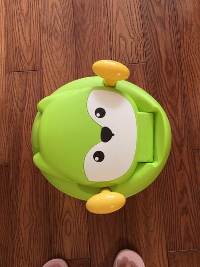 世纪宝贝(babyhood)儿童马桶宝宝坐便器婴儿便盆 幼儿男女小孩尿盆 绿/天蓝随机 BH-114 晒单图