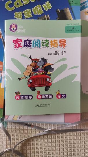 大猫英语自然拼读一级2 Big Cat Phonics(小学一年级 读物6册+家庭阅读指导1册+拼读卡 点读版 附MP3光盘1张) 晒单图