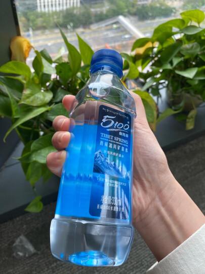 5100 西藏冰川 饮用天然矿泉水1.5L*12瓶 弱碱性水 整箱装 晒单图