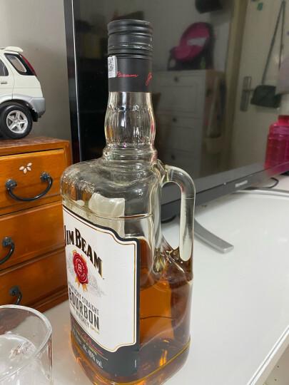 酒牧旗舰店 金宾(Jim Beam)占边 肯塔基波旁波本威士忌美国原装进口洋酒 宾三得利 嗨棒 黑占边 占边黑牌 晒单图
