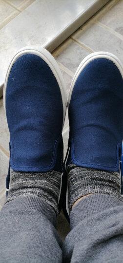 回力一脚蹬男鞋春季帆布鞋运动休闲鞋男老北京布鞋小白鞋男板鞋透气懒人鞋子男 黑色H138903 39 晒单图