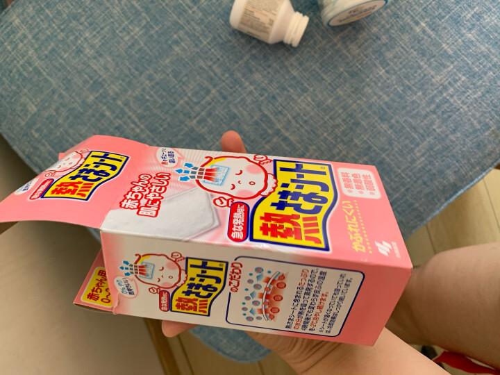 小林制药(KOBAYASHI)小林退热贴儿童粉色16片 日本进口宝宝物理降温退烧贴冰宝贴家中常备学生开学必备 晒单图