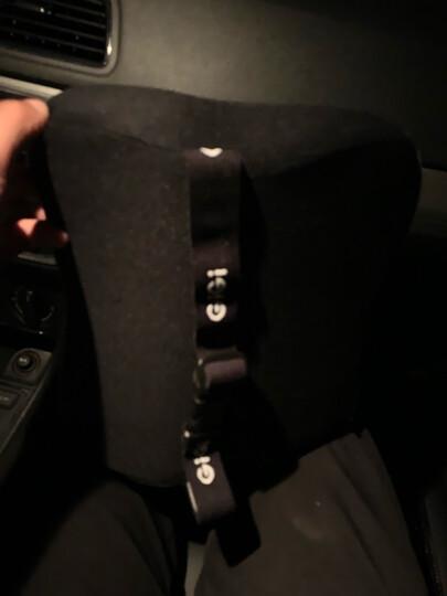 吉吉(GiGi)汽车腰靠 G-1110太空记忆棉靠枕 背靠垫 车用办公用腰枕杏色 晒单图
