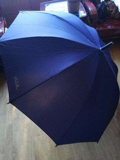 天堂伞 加大加固碰击布自开直杆商务晴雨伞 随机 193E 晒单图