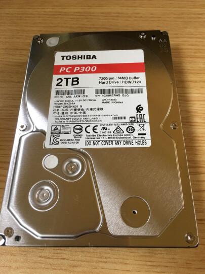 东芝(TOSHIBA)P300系列 500G 7200转64M SATA3 台式机硬盘(HDWD105) 晒单图