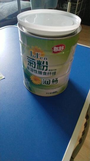 每舒菊粉550g  益生元水溶性膳食纤维 比利时进口菊粉原粉 1罐*550g/罐 晒单图