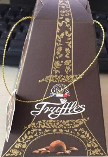 法国进口 德菲丝(Truffes)松露形代可可脂巧克力 情谜埃菲尔型 100g 晒单图