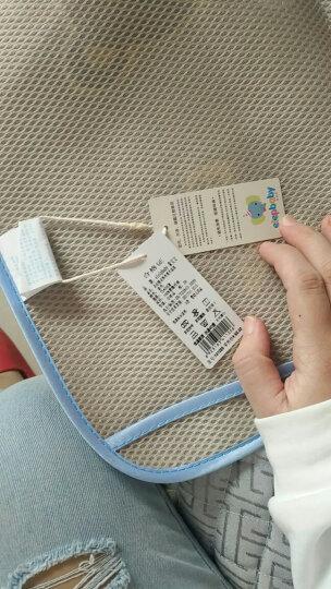 象宝宝(elepbaby)婴儿凉席儿童夏季冰丝凉席凉枕套装宝宝幼儿园婴儿床席子枕头120X60CM(萌动星球绿色) 晒单图