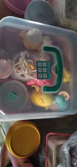 babycare奶瓶收纳箱宝宝餐具PP材质奶瓶收纳盒婴儿用品收纳箱带盖防尘无异味大号 樱粉 晒单图