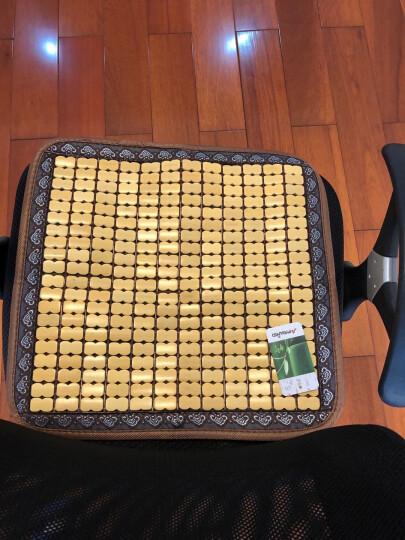 【3件7折】沙发垫夏季沙发凉席垫麻将席坐垫子凉垫沙发套罩竹席贵妃位定做定制实木组合椅垫冰垫 宽边包边 富贵金色 80*220cm 单条 晒单图