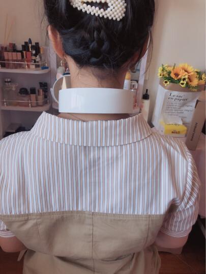南极人(NANJIREN)颈椎按摩器 智能肩颈肩部颈部按摩枕捶护颈仪腰椎腰部垫披肩膀肩周炎脊椎脖子 官方指定京东特卖款-棕色揉捏版 晒单图
