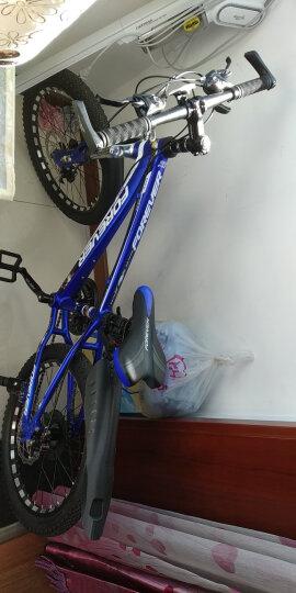 永久(FOREVER) 永久儿童自行车21速变速20寸山地车铝合金车架山地自行车街景型 消光蓝 20吋 晒单图