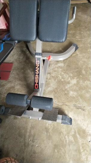 驰尚 健身器材罗马椅罗马凳健身椅背部腰部训练器山羊挺腰器健身器材家用运动器材 晒单图