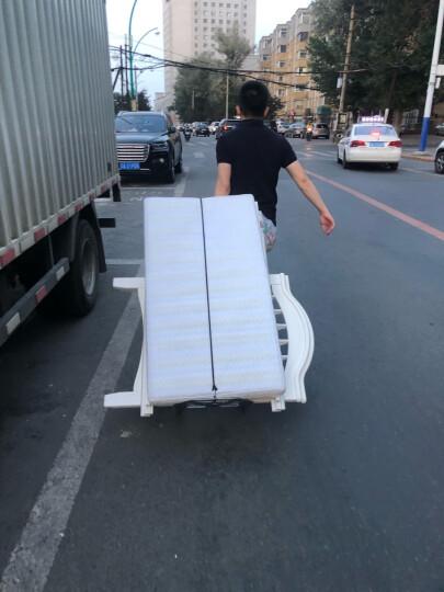 新越昌晖小推车小拖车行李车折叠拉杆车购物手拉车手推车拉货车承重约140斤蓝F51002 晒单图