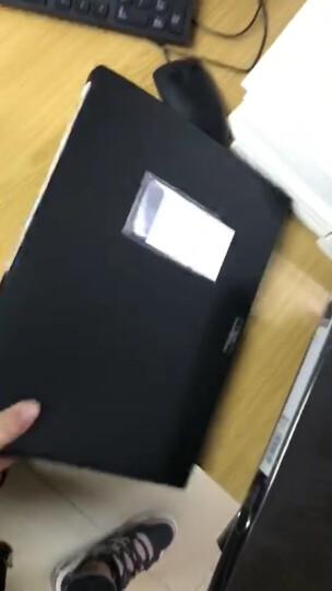 得力(deli)12只55mm睿商系列加厚塑料档案盒 A4资料文件盒 财务凭证收纳盒 办公用品5606深灰 晒单图