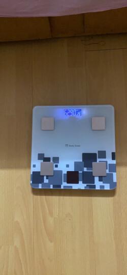 【次日达】Meilen美乐蓝牙APP体脂秤电子秤称重人体秤太阳能精准电子称健康秤减肥成人家用计体重秤 USB充电款 晒单图