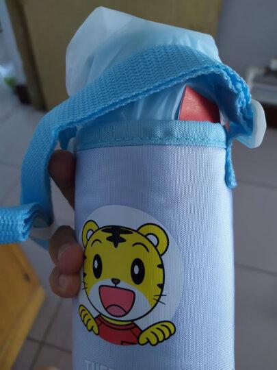 膳魔师THERMOS 儿童水杯保温杯吸管杯学饮杯便携防漏不锈钢杯  305ml BS5353L BL 晒单图