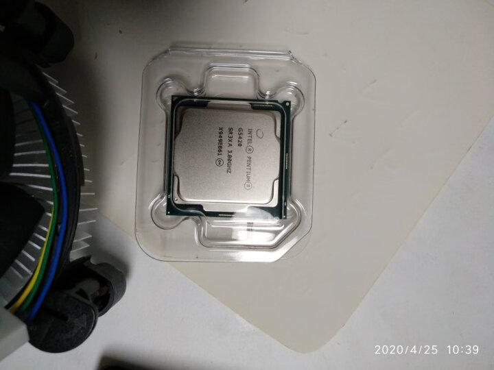 英特尔(Intel)G5420 G4930盒装处理器+H310M/B365主板CPU/板U套装内存 晒单图