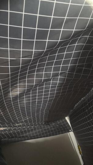 奇货居 宿舍床帘下铺上铺大学生遮光布男生女寝室简约透气蚊帐 7.可爱小马1.5米高 2片(围三面) 晒单图