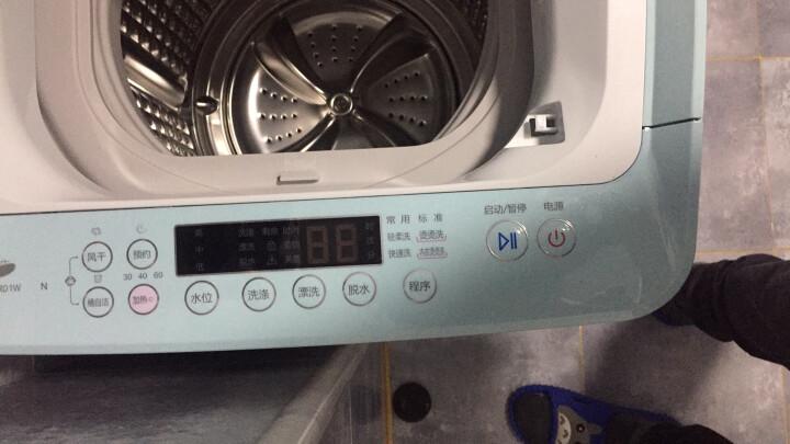 海尔(Haier)3公斤家用洗衣机波轮全自动桶自洁母婴儿童小型迷你高温烫洗XQBM30-R01W 晒单图