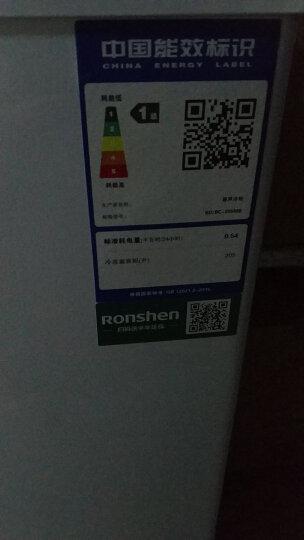 容声(Ronshen) 205升 冷藏冷冻转换冰柜 家商用大冷柜 一级能效 节能 单温母婴母乳 卧式冰箱 BD/BC-205MB 晒单图