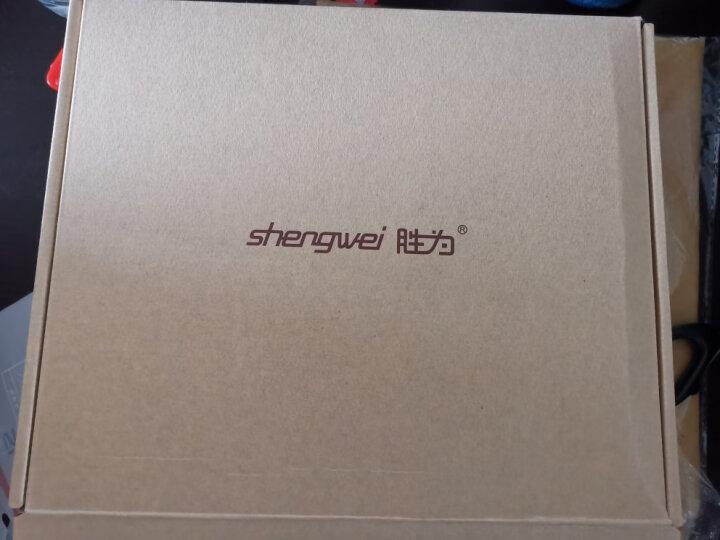 胜为(shengwei)电信级光纤收发器 单模单纤光电转换器 网络监控SC接口 千兆自适应光钎收发器一对 FC-611AB 晒单图