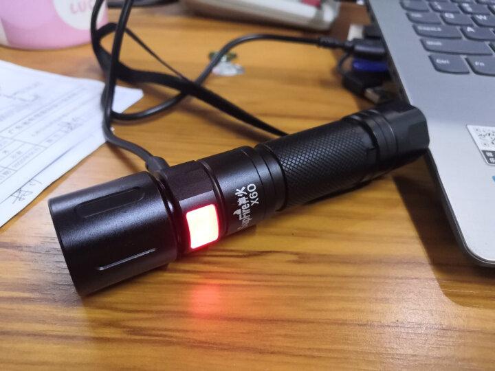 神火(supfire)x60强光手电筒 变焦远射USB充电式 家用便携 户外骑行灯 晒单图
