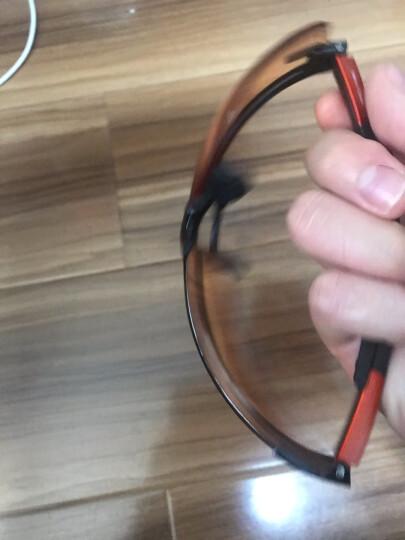 代尔塔 101110 护目镜 橙色渐变色 户外眼镜防紫外线防尘沙防风 男骑行防护眼镜 橙色渐变色 晒单图