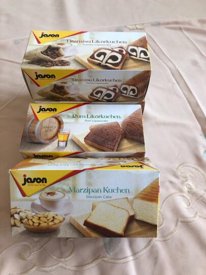 德国进口捷森Jason休闲零食甜点营养早餐面包蛋糕糕点开袋即食早餐进口糕点 水果蛋糕400g 晒单图