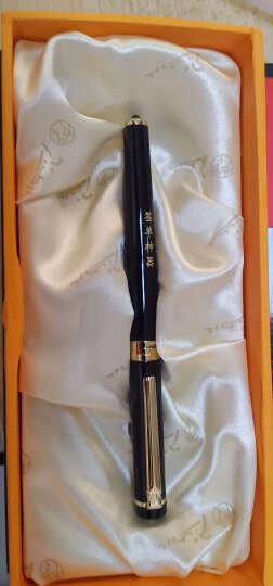 毕加索(pimio)宝珠笔签字笔男女士商务办公成人学生用0.5mm世纪先锋系列908橙黄 晒单图