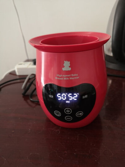 小白熊 (Snow Bear) 奶瓶消毒烘干器 多功能宝宝蒸汽消毒锅消毒柜 带烘干 HL-0886 晒单图