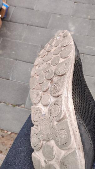 公牛世家(G.N.Shi Jia)凉鞋男沙滩鞋男夏天潮流户外舒适透气套脚网布鞋 888411黑色 41 运动鞋码 晒单图