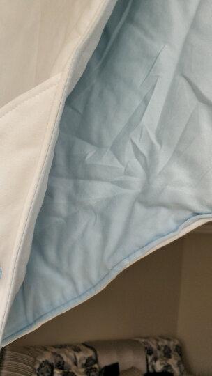 全棉时代 婴儿睡袋婴儿抱被儿童春夏宝宝纯棉针织包被 90*90cm 1件装 浅蓝色小马 晒单图