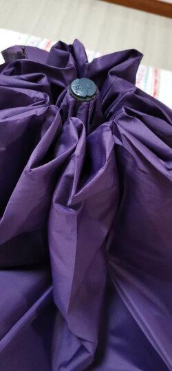 天堂伞 三人大号男士折叠晴雨伞 十骨三折商务太阳伞 可定制广告伞印字logo  33212 紫色 晒单图