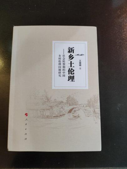 新乡土伦理 社会转型期的中国乡村伦理问题研究 晒单图