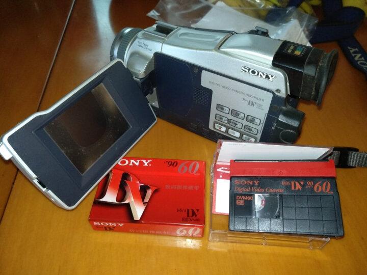 索尼(SONY) DV带 数码摄像磁带 Mini DV磁带 录像带 DV60带 一盘 晒单图