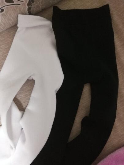 儿童连裤袜子儿童裤袜女童舞蹈袜冬季加绒加厚打底秋季薄款女孩裤袜1-12岁 白色(单层3条装) L码身高120-140CM 晒单图