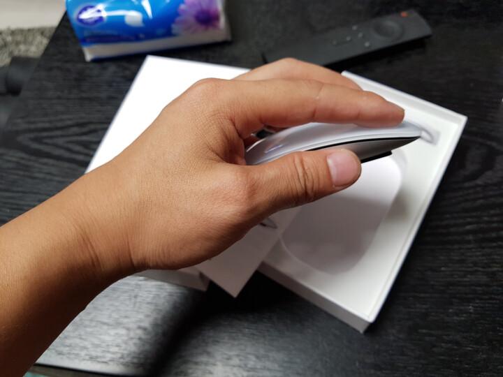 【次日达】LS Mac苹果鼠标无线蓝牙 MacBook Air/Pro笔记本一体机台式机电脑配件触摸 无线鼠标-高端阳极氧化铝触摸-蓝牙充电款 晒单图