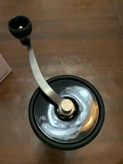 HARIO 日本手摇磨豆机研磨机陶瓷磨芯咖啡研磨器磨粉机家用手磨咖啡豆MSCS 老款灰色100g 晒单图