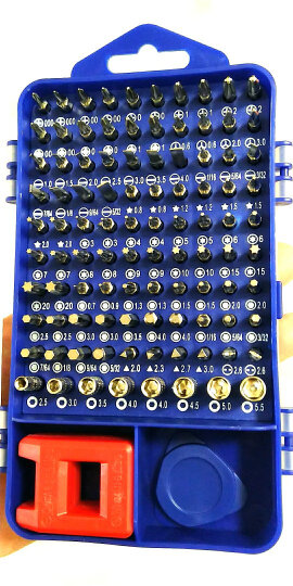 万克宝(WORKPRO)W021190N 多功能螺丝刀修理套装 三星小米苹果手机维修起子工具套装 晒单图