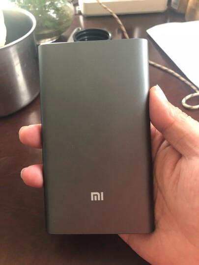 小米10000毫安 移动电源/充电宝 高配版 聚合物 灰色 适用小米10/红米9苹果安卓redmi手机充电宝 晒单图
