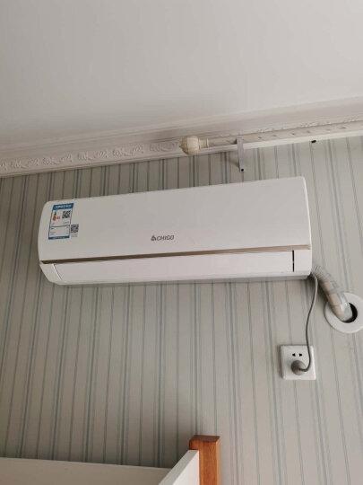 志高(CHIGO)1匹 定速冷暖  大风量 静音 壁挂式卧室空调挂机(NEW-GD9F1H3) 晒单图