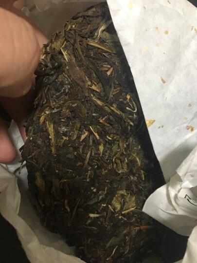 贡苑 茶叶 普洱茶熟茶 云南熟普洱 糯米香普洱茶小沱茶 260g/罐 晒单图