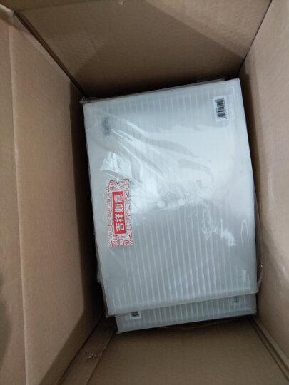 得力(deli)10只A4加厚镜面文件袋 透明按扣档案袋 防水资料袋 学生试卷收纳袋 5502 晒单图