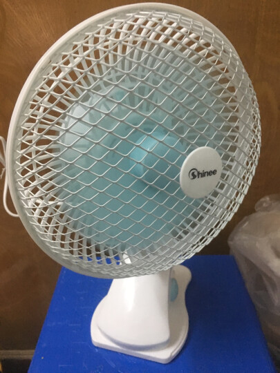赛亿(Shinee)小风扇 台扇/台夹扇 壁扇 迷你静音学生宿舍床头办公室桌面换气电风扇FJ7-01 晒单图