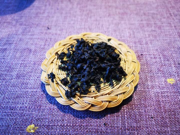 爱喝不喝 台湾新茶黑乌龙茶 高山冻顶乌龙茶叶炭焙乌龙油切黑乌龙去油腻 浓香型150g 晒单图
