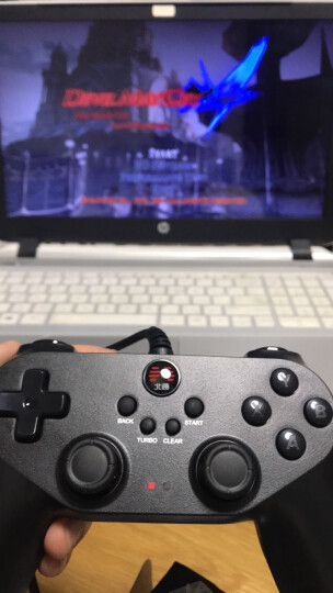 北通蝙蝠BD2E有线游戏手柄 PC电脑Steam电视PS赛博朋克双人成行生化8原神怪物猎人FIFA实况2k篮球支持双打 晒单图