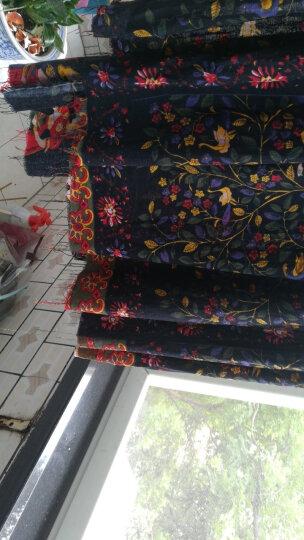 棉麻布料服装面料复古中国风名族印花旗袍薄麻桌布民族风布料 #24茶马古道 晒单图